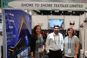 Shore To Shore Textiles Ltd. was having stall in